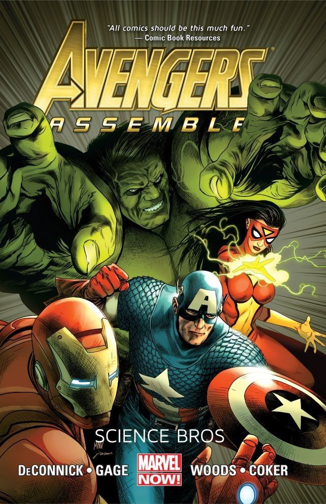 Avengers Assemble: Science Bros TPB Vol 1 1