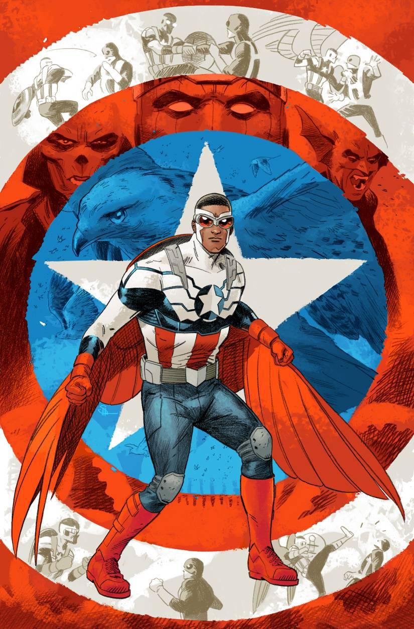 Captain America Sam Wilson Vol 1 2 Shaner Variant Textless.jpg