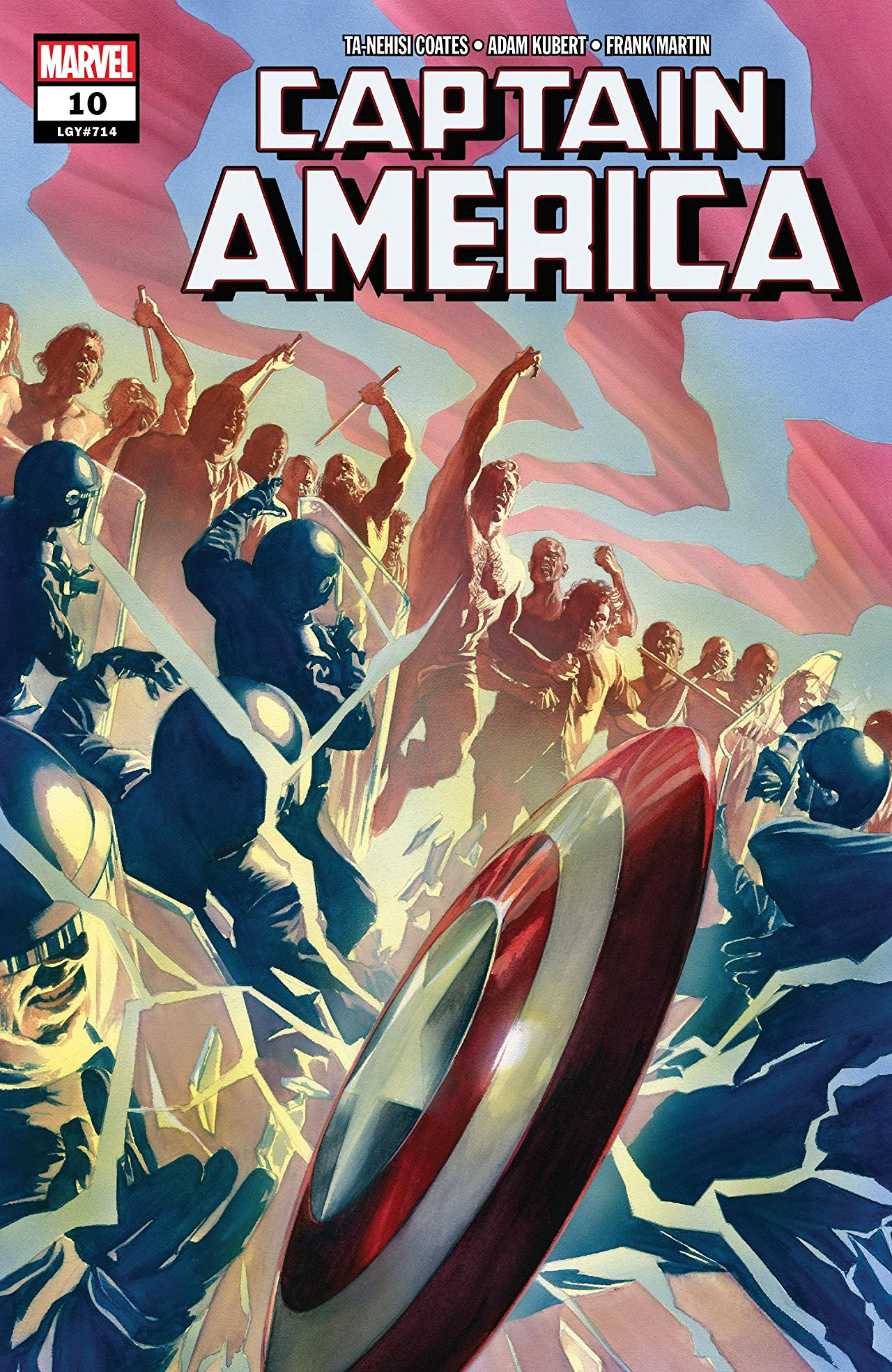 Captain America Vol 9 10