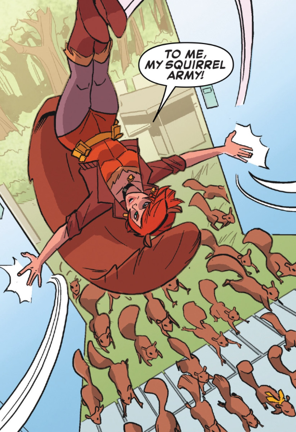 Squirrel Scouts (Earth-616)