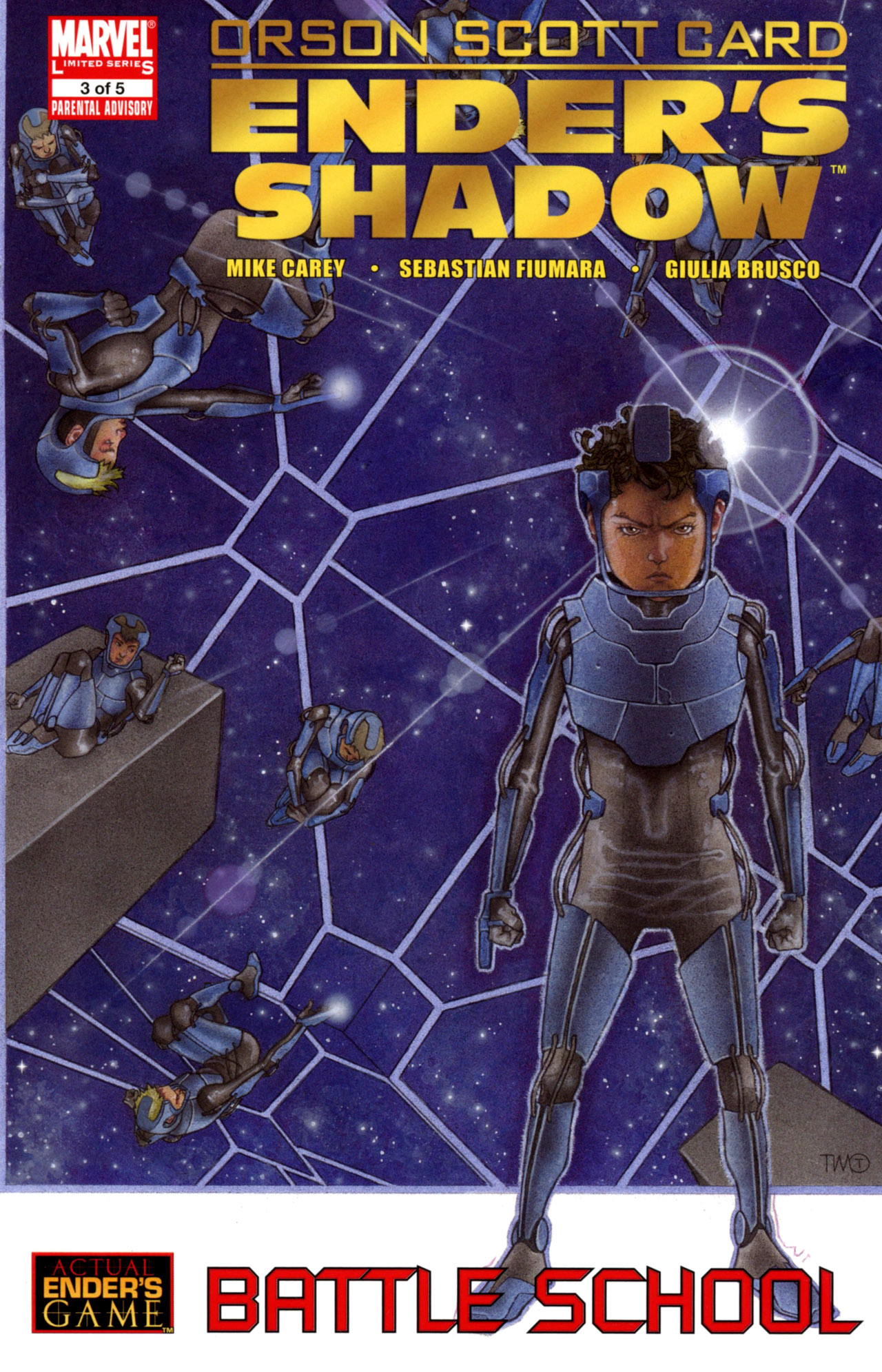 Ender's Shadow: Battle School Vol 1 3