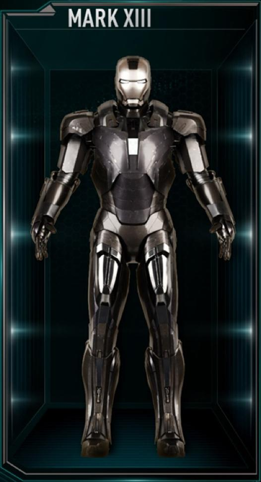 Iron Man Armor MK XIII (Earth-199999)