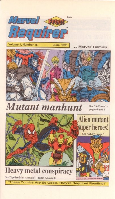 Marvel Requirer Vol 1 16