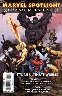 Marvel Spotlight: Summer Events Vol 1 1