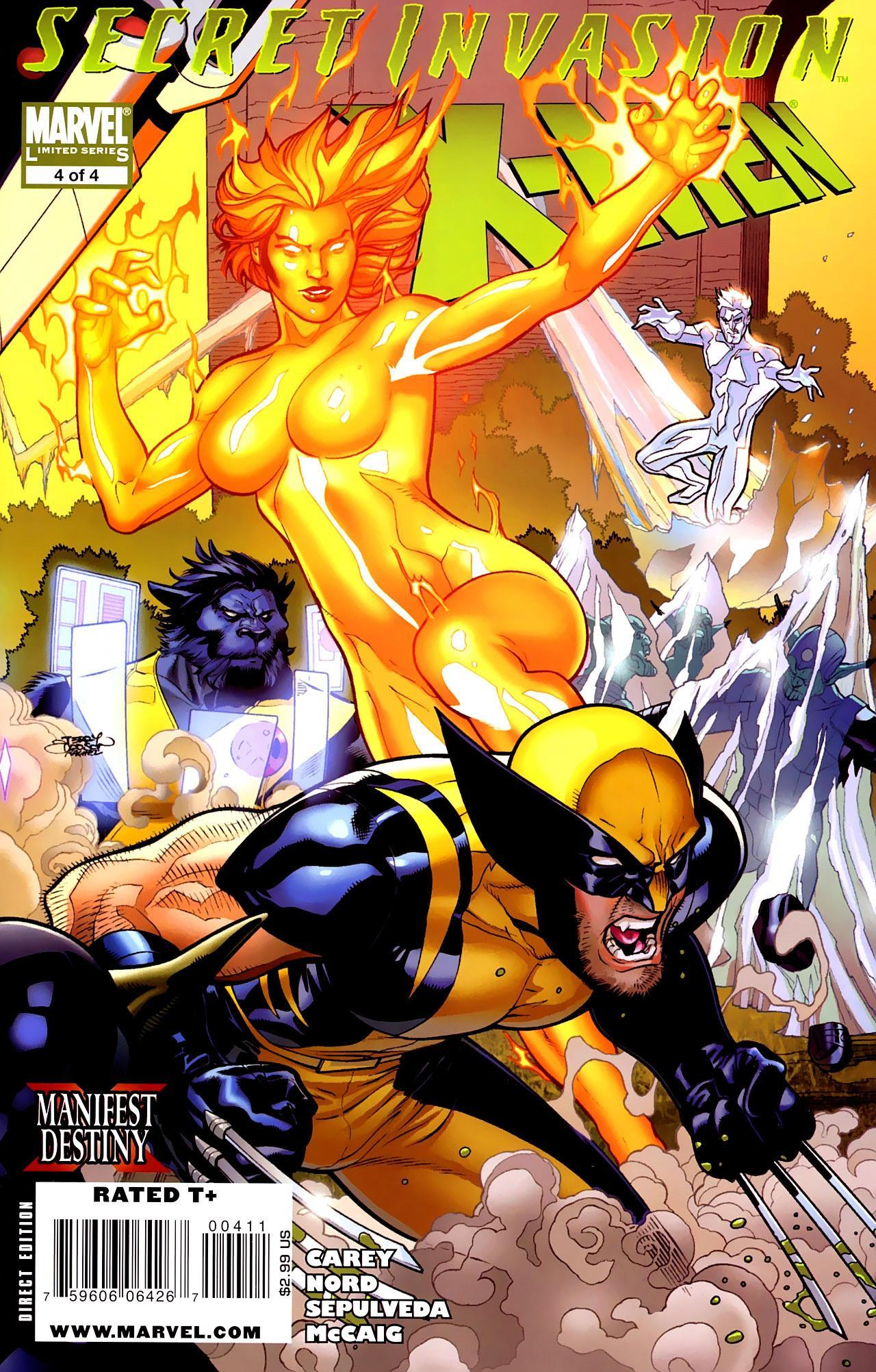 Secret Invasion: X-Men Vol 1 4