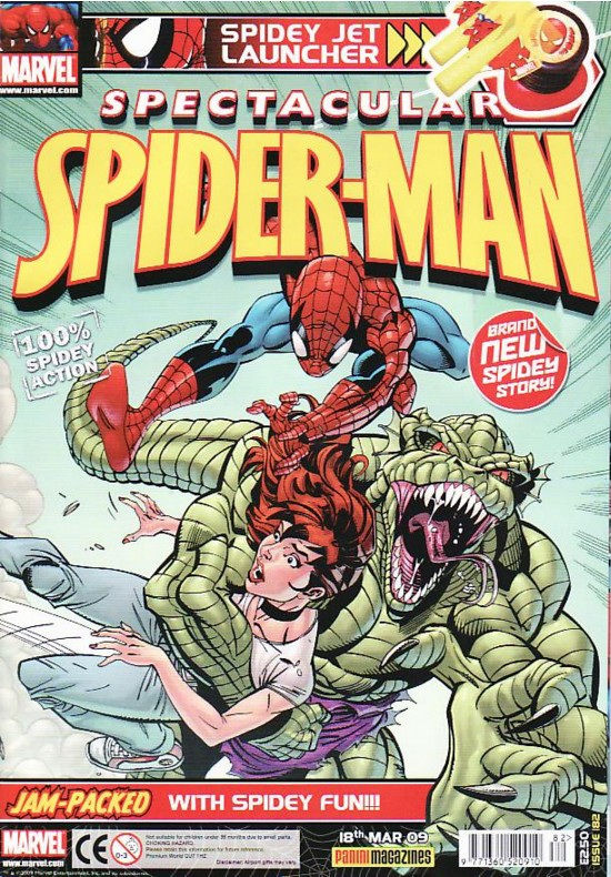 Spectacular Spider-Man (UK) Vol 1 182