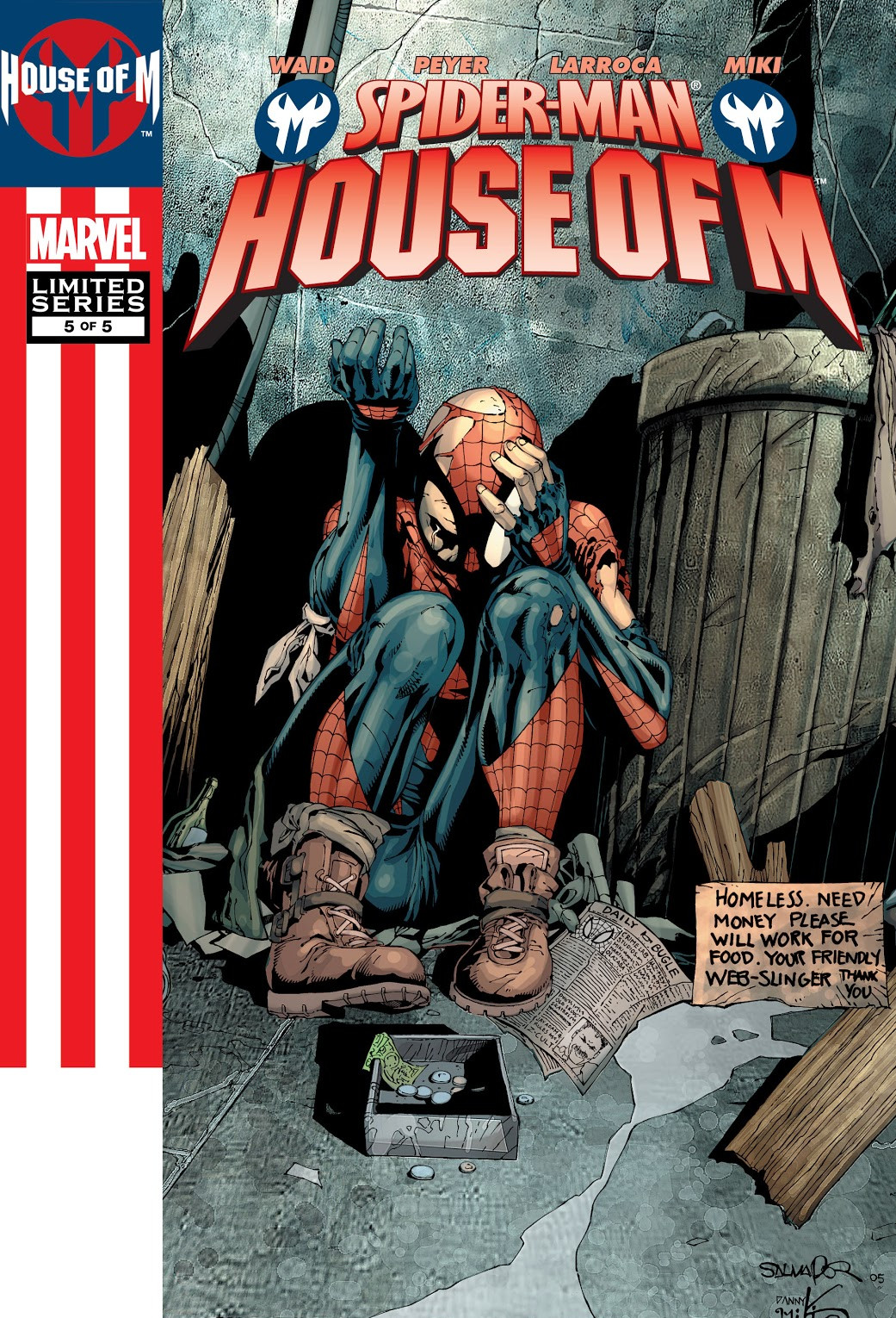 Spider-Man: House of M Vol 1 5