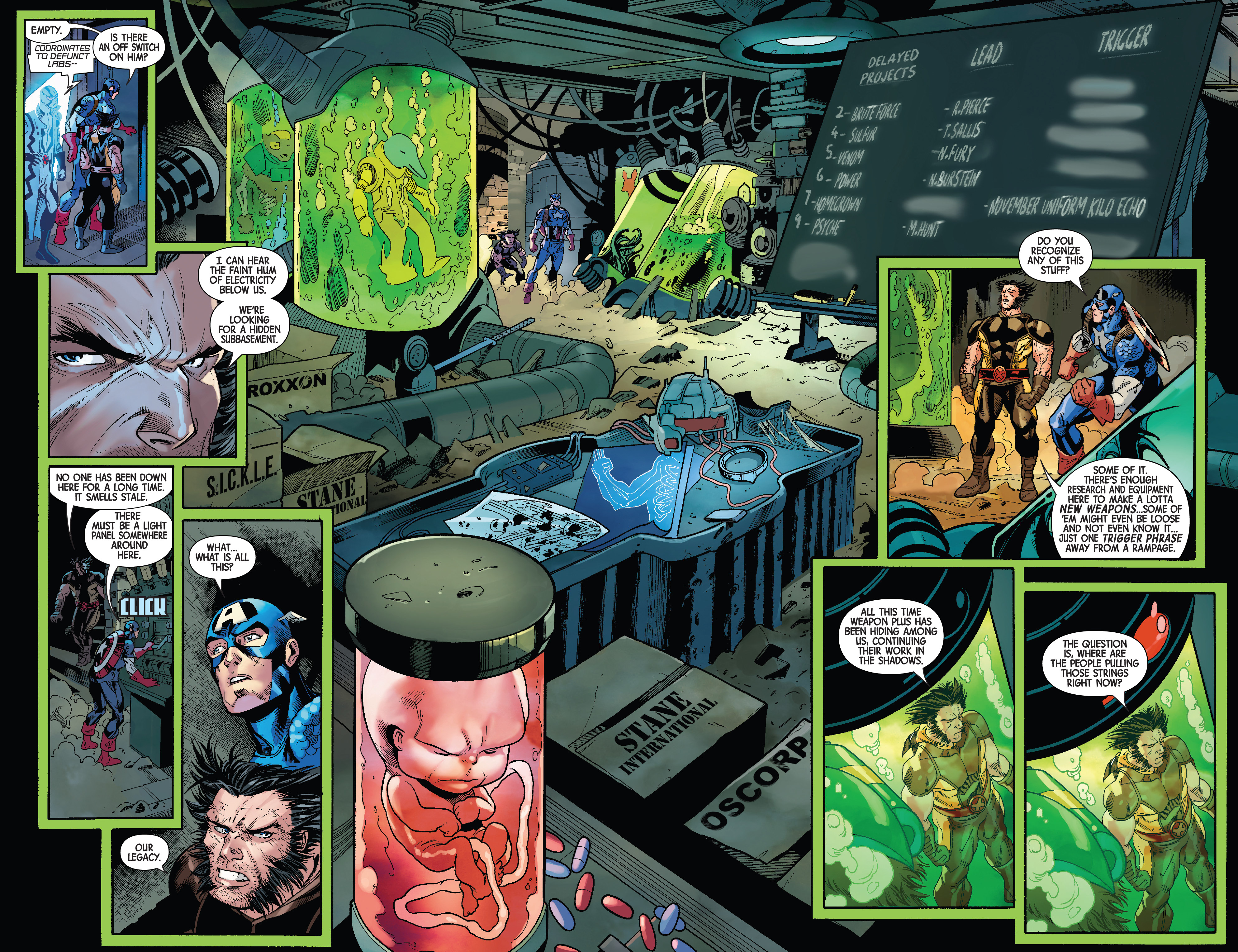 Weapon Plus (Earth-616)/Gallery