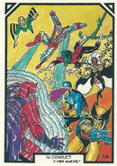 X-Men and Max Eisenhart (Earth-616) from Arthur Adams Trading Card Set 0001