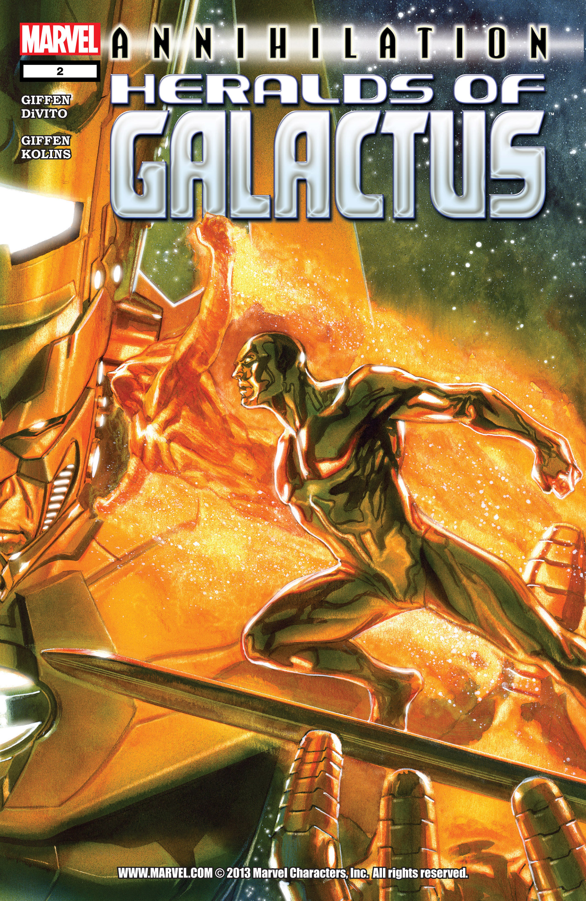Annihilation: Heralds of Galactus Vol 1 2
