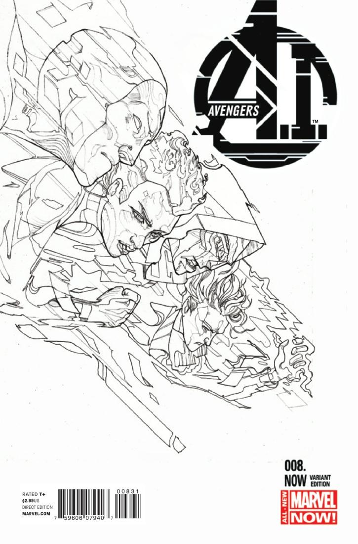 Avengers A.I. Vol 1 8.NOW Ward Sketch Variant.jpg