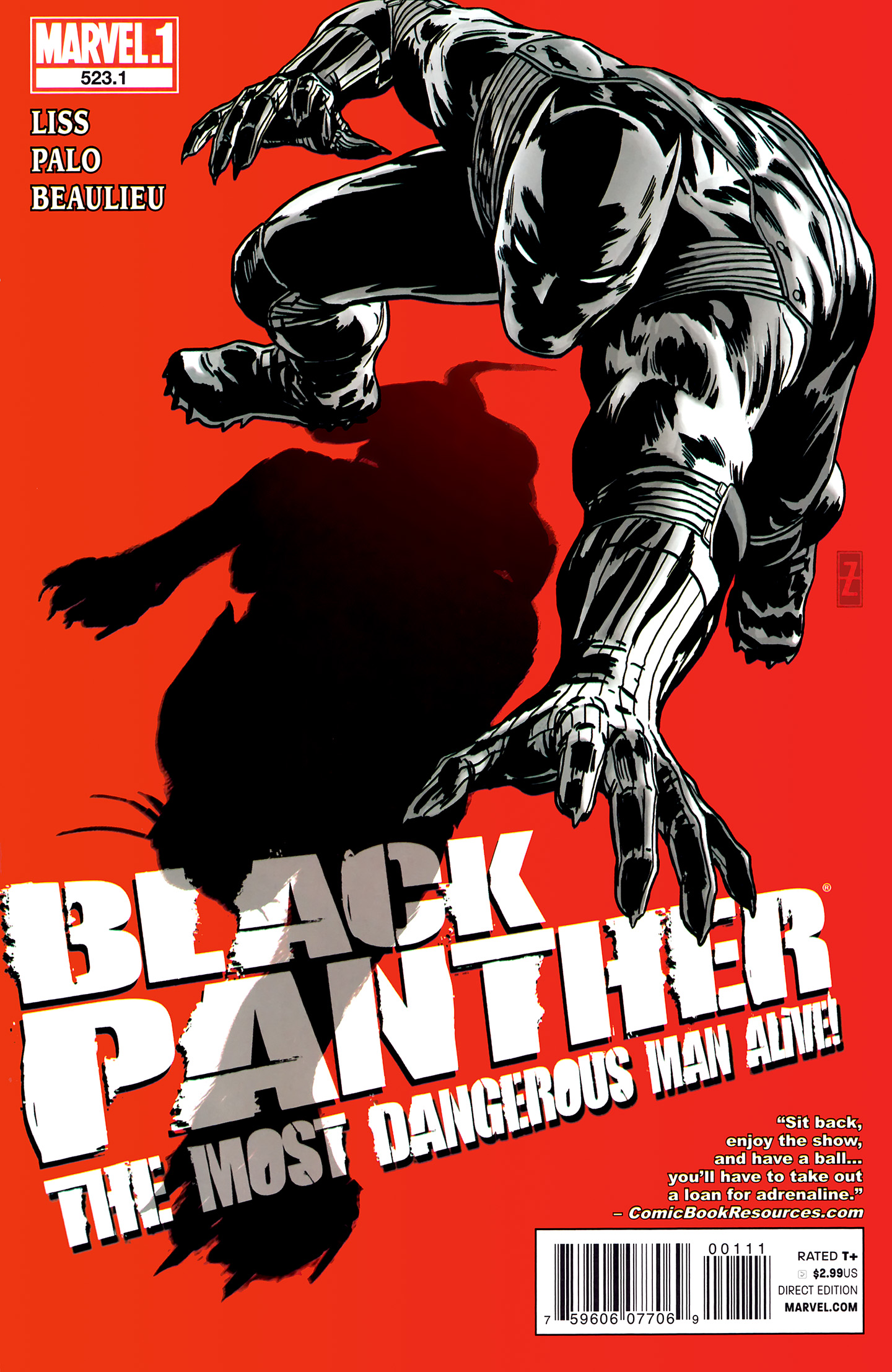 Black Panther: The Most Dangerous Man Alive! Vol 1 523.1
