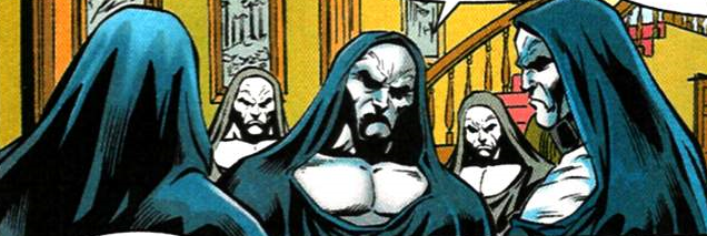 Brotherhood of the Scriers (Earth-616) from Spider-Man Annual Vol 1 1999 001.png