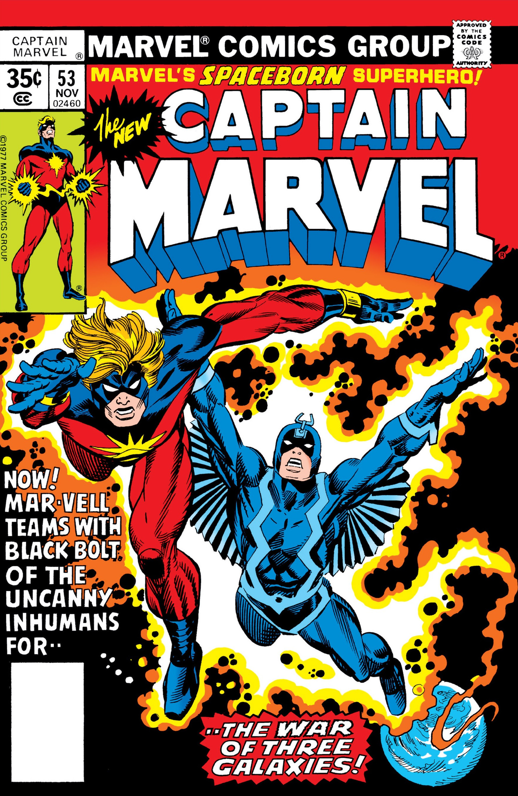Captain Marvel Vol 1 53