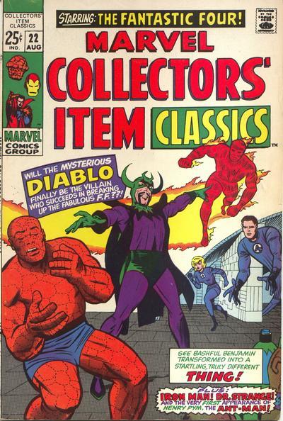 Marvel Collectors' Item Classics Vol 1 22