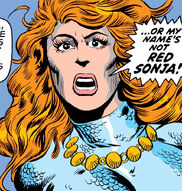 Red Sonja (Earth-616) from Conan the Barbarian Vol 1 23