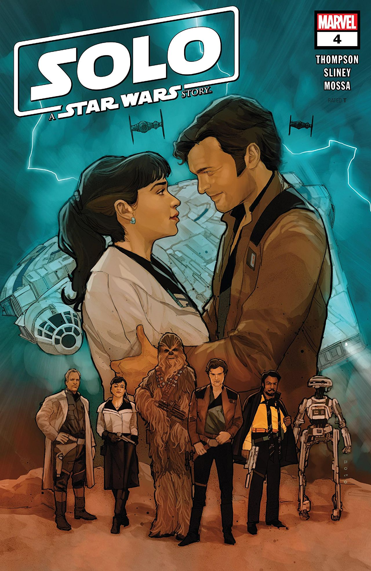 Solo: A Star Wars Story Adaptation Vol 1 4
