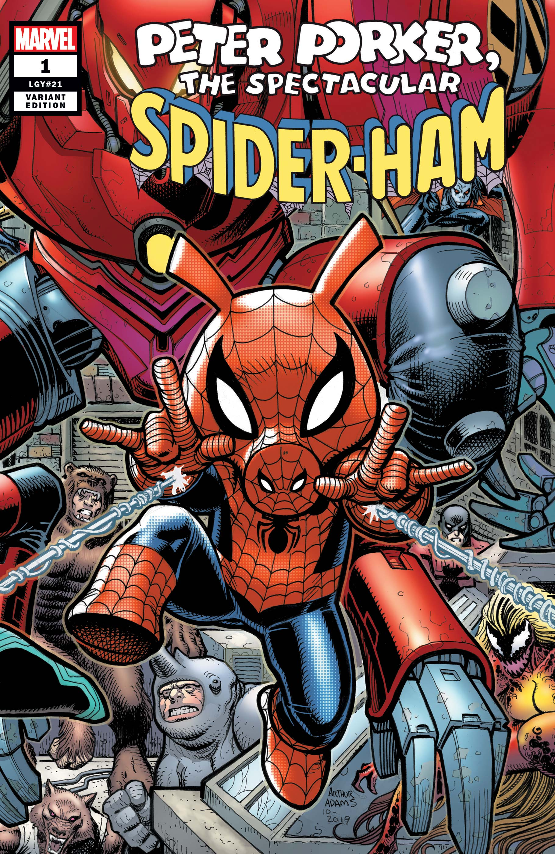 Spider-Ham Vol 1 1 Adams Connecting Variant.jpg