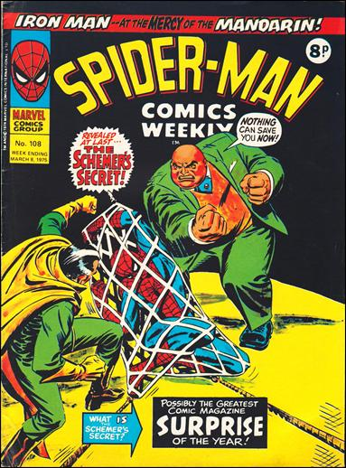 Spider-Man Comics Weekly Vol 1 108