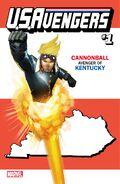 U.S.Avengers Vol 1 1 Kentucky Variant