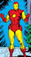 Anthony Stark (Earth-616) with Iron Man Armor MK V from Iron Man Vol 1 85 001