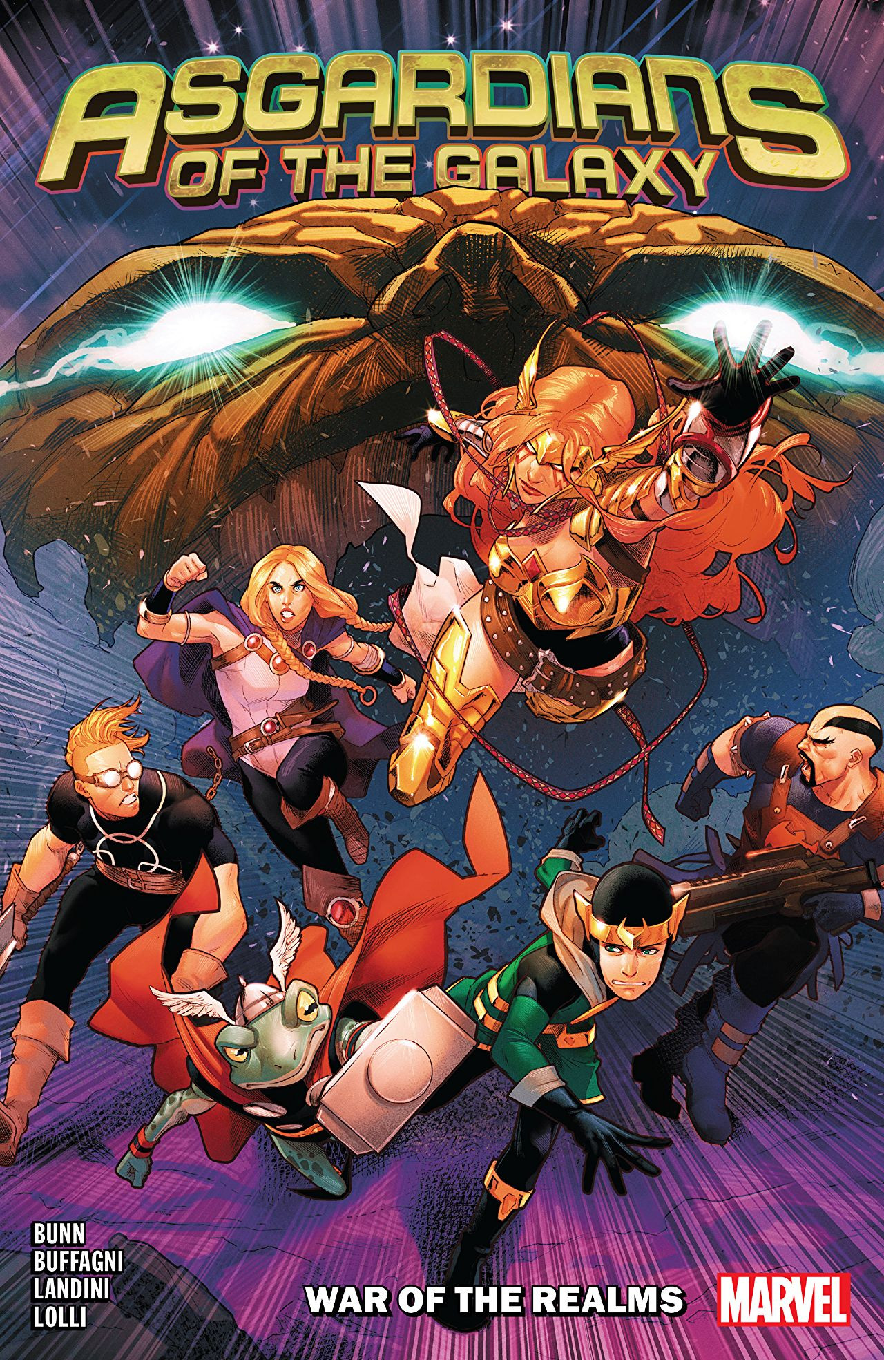 Asgardians of the Galaxy TPB Vol 1 2: War Of The Realms