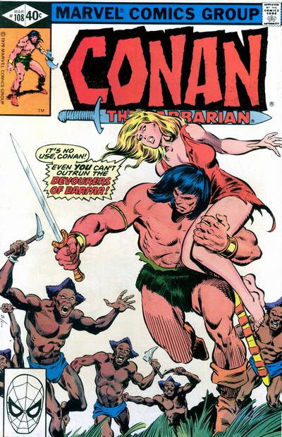 Conan the Barbarian Vol 1 108