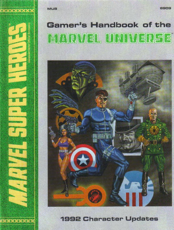 Gamer's Handbook of the Marvel Universe Vol 1 8