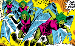 Harpies (Olympus) from Champions Vol 1 1 001.png