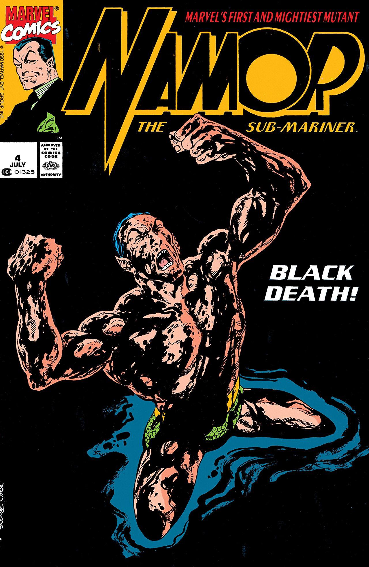 Namor the Sub-Mariner Vol 1 4