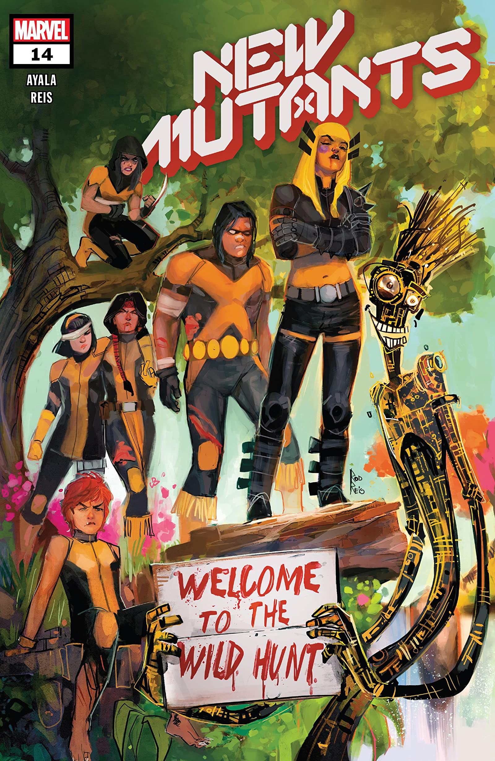 New Mutants Vol 4 14