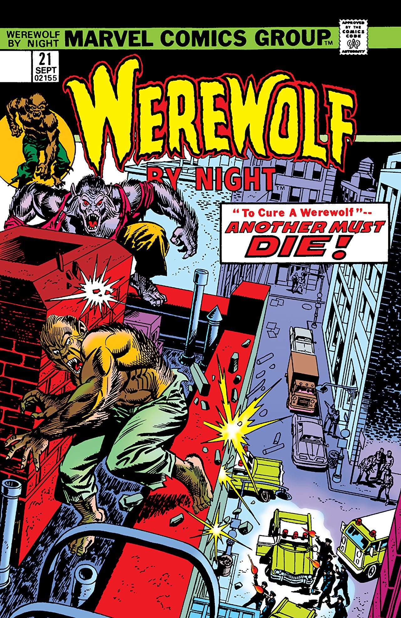 Werewolf by Night Vol 1 21