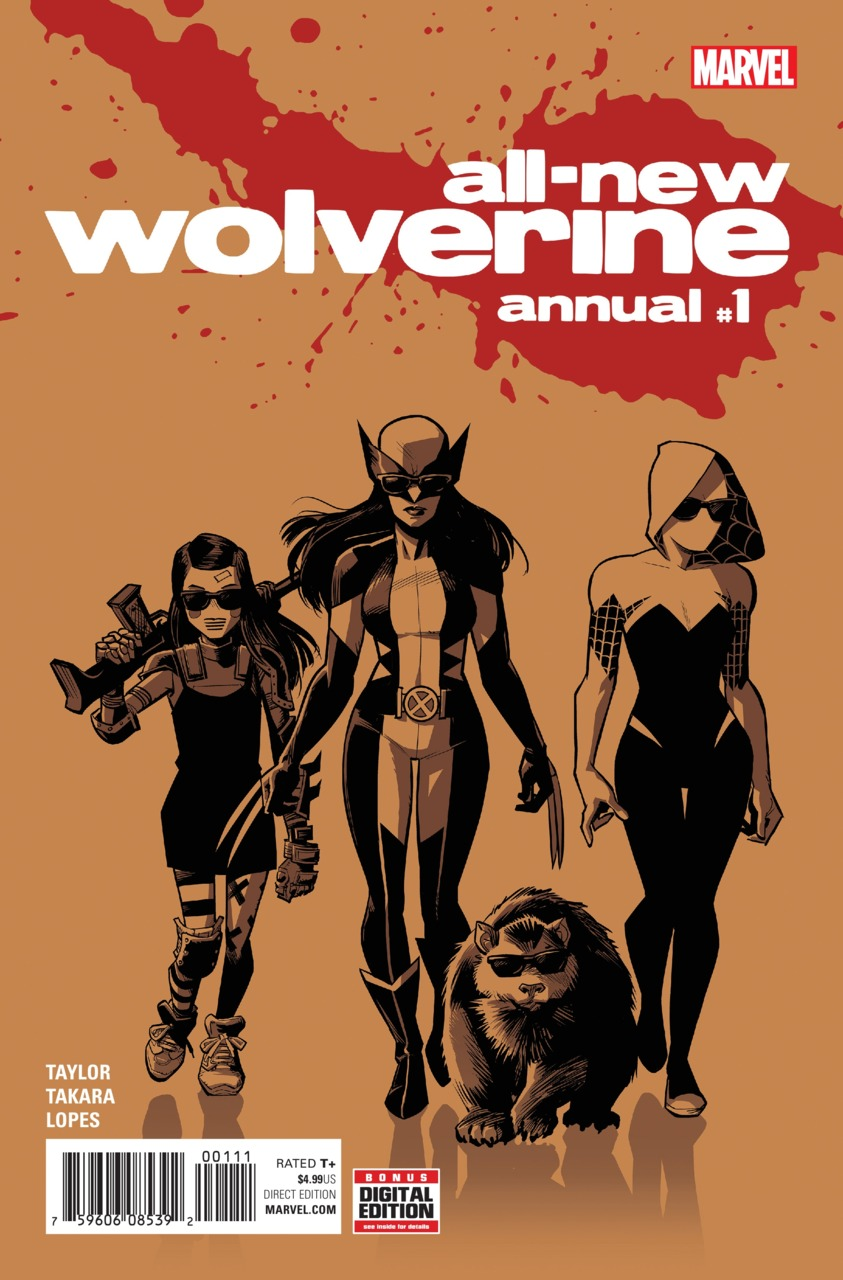 All-New Wolverine Annual Vol 1 1