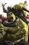 Avengers Age of Ultron concept art poster 008