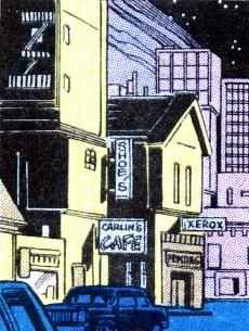 Bleecker Street from Peter Parker, The Spectacular Spider-Man Vol 1 109 001.png