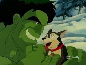 Hulk cuddles Scout.jpg