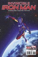Invincible Iron Man Vol 4 2