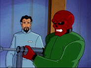 Johann Shmidt (Earth-92131) and Andre Cocteau (Earth-92131) from X-Men The Animated Series Season 5 11 001