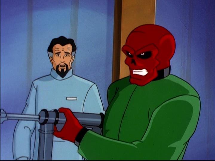 Johann Shmidt (Earth-92131) and Andre Cocteau (Earth-92131) from X-Men The Animated Series Season 5 11 001.jpg