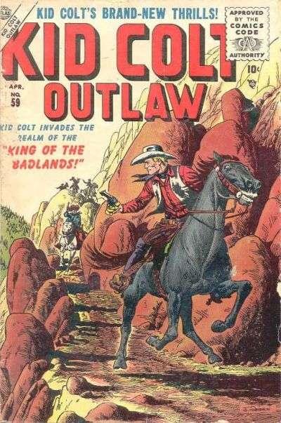 Kid Colt Outlaw Vol 1 59