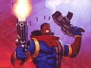 Lucas Bishop (Earth-1191) from Marvel Masterpieces Trading Cards 1994 001