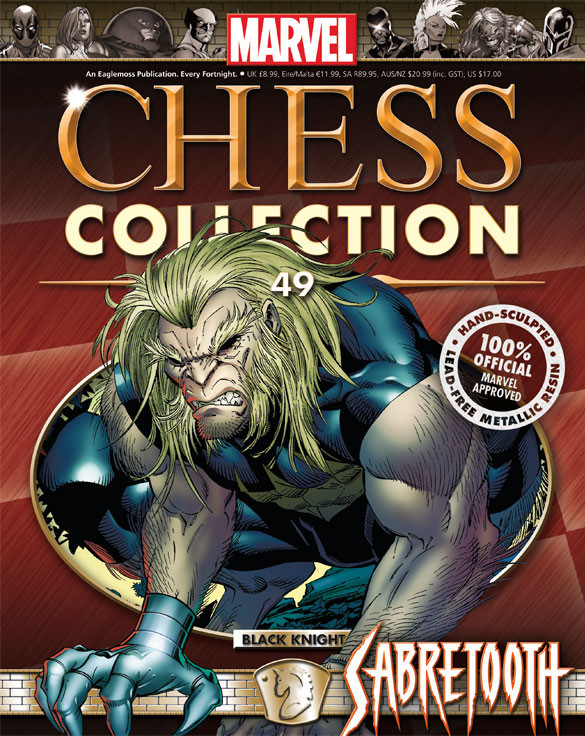 Marvel Chess Collection Vol 1 49