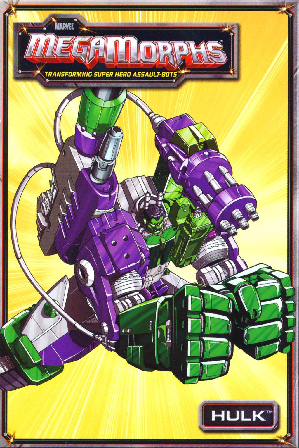 Marvel MegaMorphs: Hulk Vol 1 1