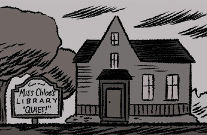 Miss Chloe's Library