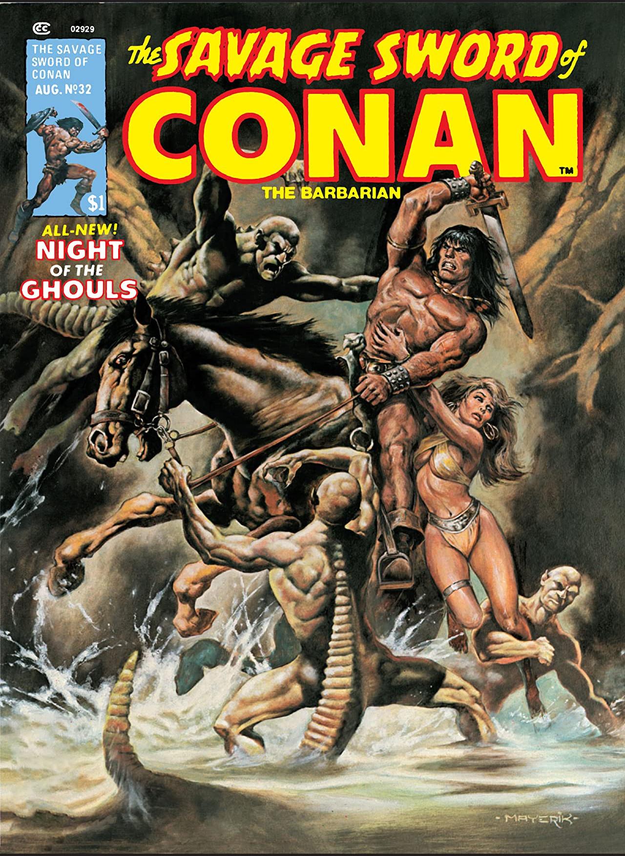 Savage Sword of Conan Vol 1 32