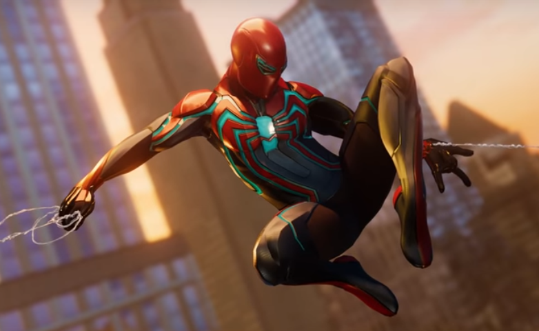 Spider-Man's Velocity Suit from Marvel's Spider-Man (video game) 0001.png