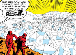 Valley of Diamonds from Fantastic Four Vol 1 1 0001.jpg