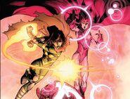 Wanda Maximoff (Earth-616) and Hope Summers (Earth-616) from Avengers vs. X-Men Vol 1 12 002