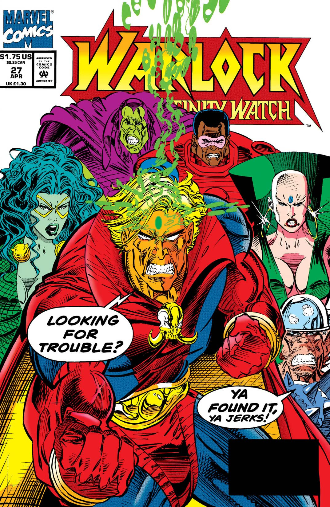 Warlock and the Infinity Watch Vol 1 27