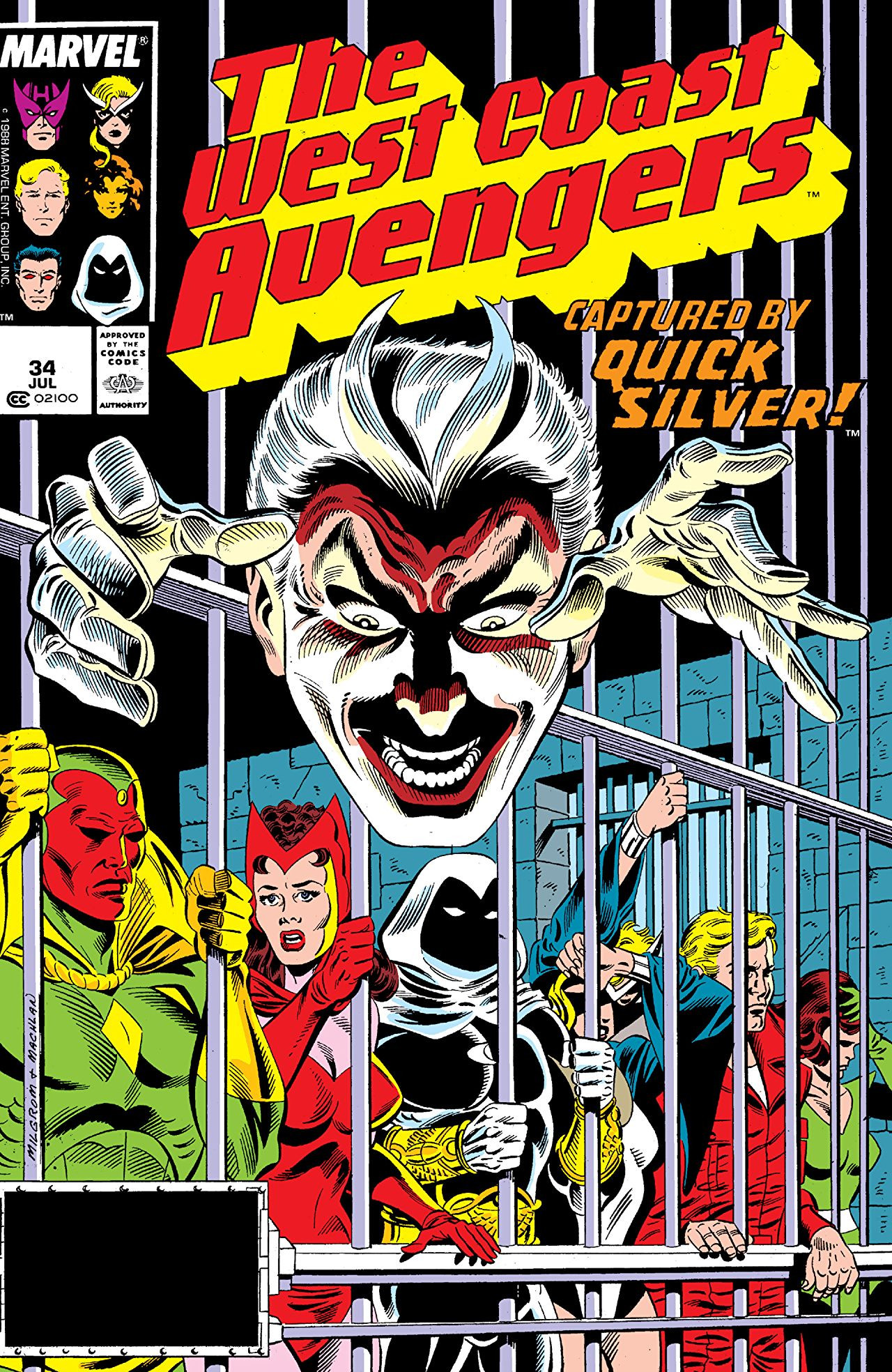West Coast Avengers Vol 2 34